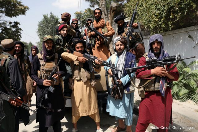 photo of taliban fighters